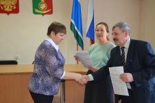 Вручение сертификатов многодетным семьям